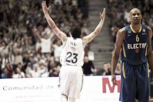 El Madrid vence al Maccabi en un gran duelo