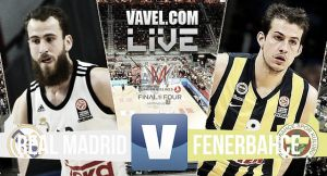 Resultado Real Madrid vs Fenerbahçe Ülker en semifinales Final Four 2015 (96-87)