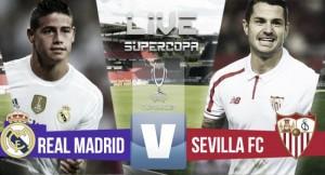 Live Real Madrid - Siviglia, risultato Supercoppa Europea  (3-2 d.t.s): Carvajal regala la coppa ai Blancos!