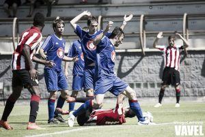 Magdaleno, primer expulsado del Bilbao Athletic
