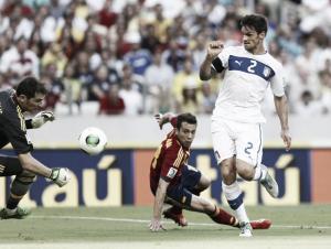 España - Italia, puntuaciones de España, semifinales de la Copa Confederaciones