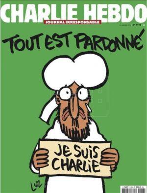 """""""Charlie Hebdo"""" vuelve tras el atentado con Mahoma en portada"""