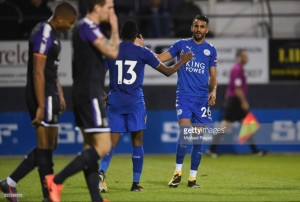 Luton Town 0-1 Leicester City: Wantaway Riyad Mahrez nets again in positive pre-season victory for Foxes
