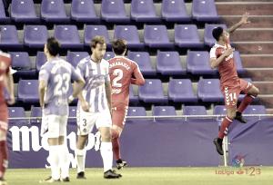 Maikel Mesa, el mejor contra el Valladolid