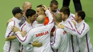 Davis Cup: Viktor Troicki Trounces Aleksandr Nedovyesov, Serbia Squeaks By Kazakhstan 3-2