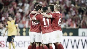 Kasper Hjulmand gets Mainz off to a winning start
