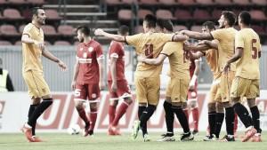 Victoria del Sevilla ante el Mainz con Gameiro como titular