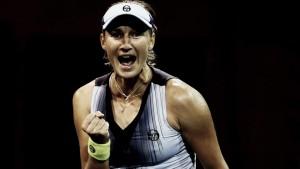 Makarova acaba con el sueño de Wozniacki en New York