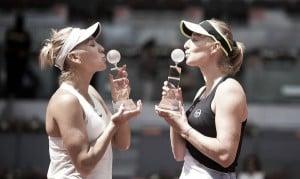 WTA Madrid: Makarova/Vesnina edges closer to number one ranking after triumphing against Babos/Mladenovic