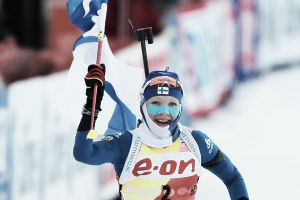 Biathlon, mass start femminile Pokljuka: mostruosa Makarainen, Bescond si arrende nell'ultimo giro!
