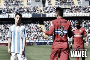 Fotos e imágenes del Málaga 1-1 Espanyol, jornada 31 de la Liga BBVA