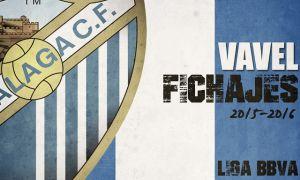 Fichajes del Málaga CF en vivo y en directo online, temporada 2015/2016