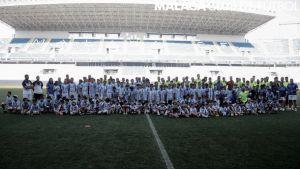 El Málaga CF sigue unido