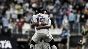 El Málaga termina la jornada tres puntos por encima del descenso