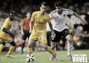 Resultado Málaga vs Valencia en Liga BBVA (1-0)