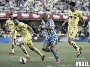 Los datos del Málaga CF - Villarreal CF