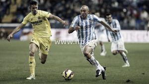Un gris Villarreal no consigue pasar del empate en Málaga