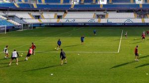 El Málaga, centrado en Anoeta