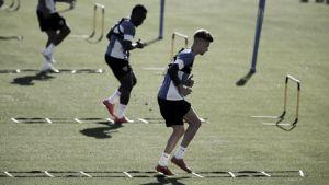 Segundo entrenamiento de la semana pensando en el Bernabéu