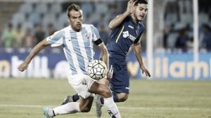 El Málaga perdió en el Coliseum ante el Getafe en la primera vuelta