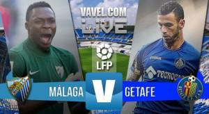 Resultado Málaga CFvs Getafe CF Liga BBVA 2016 (3-0): La efectividad del Málaga desborda al Getafe