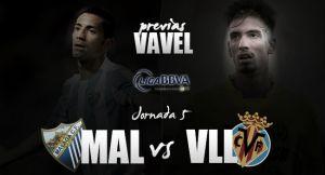Málaga CF - Villarreal CF: a la conquista de territorio enemigo