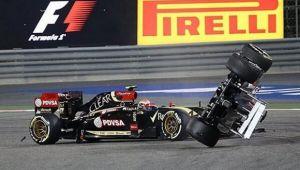 Pastor Maldonado, sancionado con la pérdida de cinco puestos para la carrera del GP de China