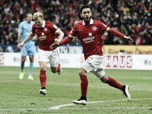 FSV Mainz 3-1 Eintracht Frankfurt: Geis free-kick helps hosts gain crucial three points