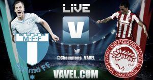 Mälmo vs Olympiakos en vivo y en directo online