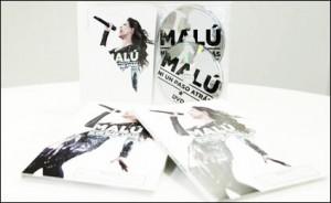 Malú entra al Nº 1 en las listas de DVD y cuelga el cartel de entradas agotadas en Madrid