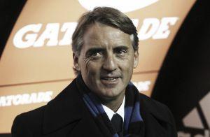 """Mancini:""""Soddisfatto della squadra"""""""