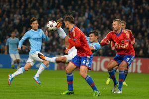 Manchester City - CSKA de Moscú: el Etihad, escenario del primer equipo en caer