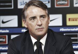 """Mancini: """"In queste gare non basta fare meglio, ma segnare. Vidic? Poteva stare più attento"""""""