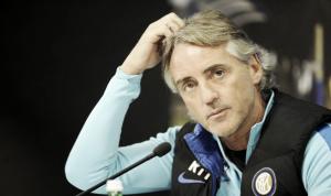 """Inter, Mancini: """"Il Frosinone sa giocare bene in trasferta, Jovetic e Icardi devono conoscersi""""."""