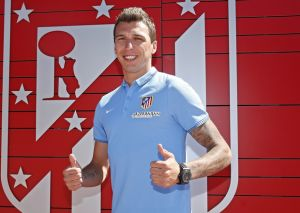 Atletico Madrid officially announce Mandzukic as one of their own