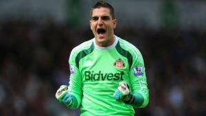 """Mannone: """"Cada partido del Sunderland es una final de Champions"""""""