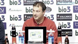 """Manolo Díaz: """"Estoy seguro de que el equipo va a rendir bien"""""""