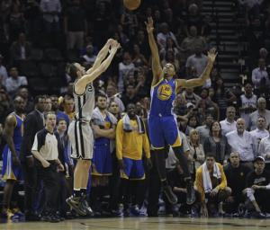 Spurs - Warriors: Curry quiere irse a casa con el 1-1
