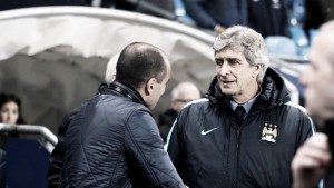 """Pellegrini: """"Todos vieron el penalti, el árbitro estaba cerca"""""""