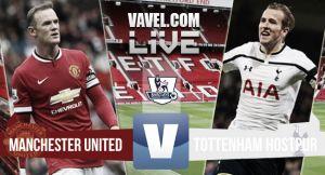 Manchester United vs Tottenham en vivo online (3-0)