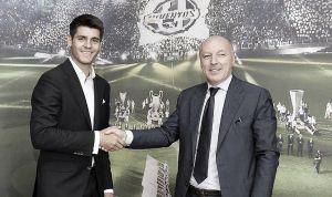 Álvaro Morata, nouveau joueur de la Juventus