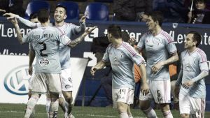 Levante - Celta: puntuaciones del Celta, jornada 28 de Liga BBVA
