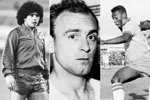 Cruyff, Maradona y Pelé se despiden de la Saeta