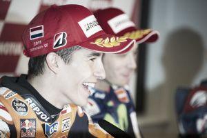 Sachsenring: Marquez davanti a Rossi nella FP1