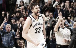 Resumen NBA: Memphis Grizzlies y Pau Gasol entran en la historia