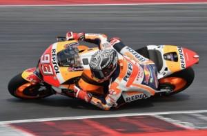 MotoGP - Marquez vola nella FP1 di Aragon, torna Rossi ed è 18°