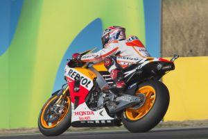 MotoGP, Aragón: nuova pole di Márquez, Iannone in prima fila