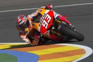 Gp Valencia: a Marquez l'ultima pole davanti a Lorenzo