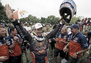 Marc Coma logra su quinta corona en el Rally Dakar