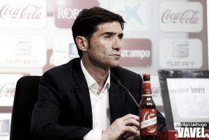 """Marcelino: """"Estoy satisfecho del esfuerzo de los jugadores"""""""